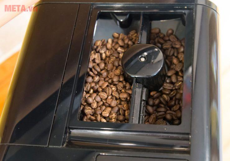 Máy pha cà phê Melitta Caffeo Barista TS với hộc chứa hạt