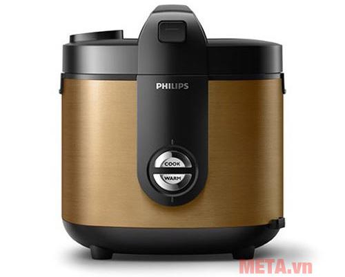 Nồi cơm điện Philips HD3132 có thiết kế sang trọng