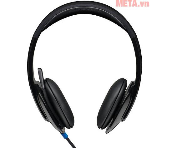 Logitech Headset H570e có micro cho khả năng đàm thoại trong thời gian dài