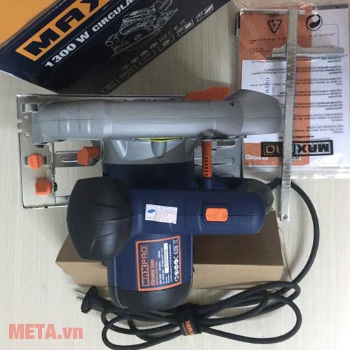 Máy cưa đĩa Maxpro MPCS1300/185L hoạt động với cống suất 1300W