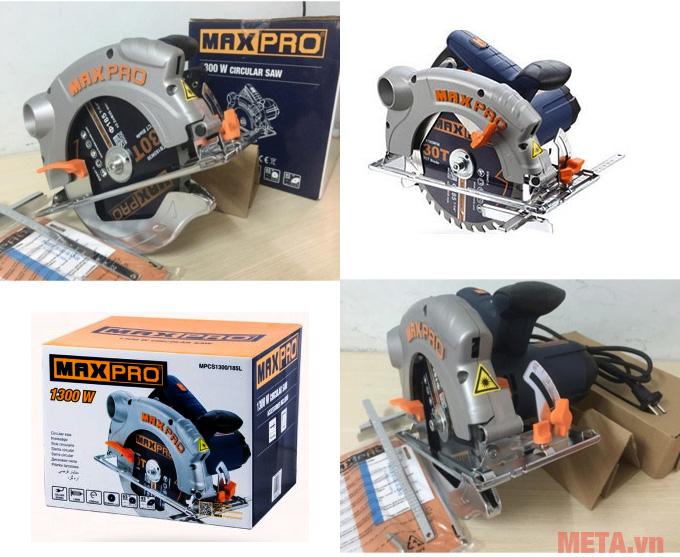 Máy cưa đĩa Maxpro MPCS1300/185L cho khả năng cắt hiệu quả