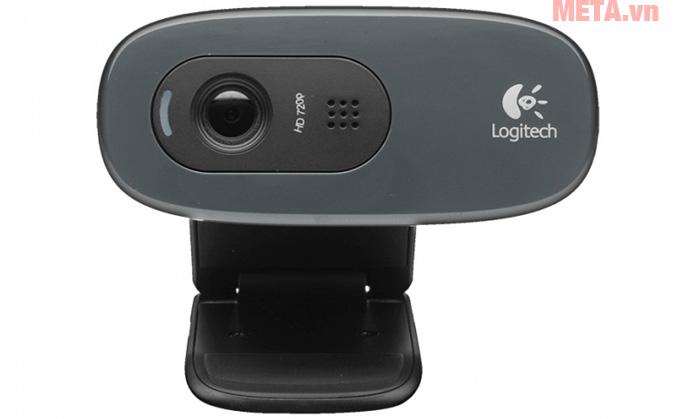 Webcam Logitech C270 full HD có chức năng giảm tiếng ồn đem đến chất lượng âm thanh tuyệt vời