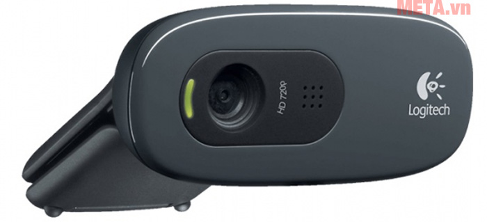 Logitech C270 có độ phân giải HD 1280 x 720 pixel
