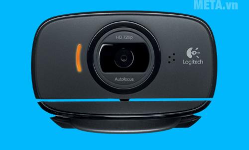 Webcam Logitech HD C525 cho chất lượng hình ảnh và video lên đến HD 720p