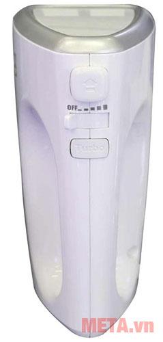 Máy đánh trứng Electrolux EHM3407 với nút bấm tiện lợi