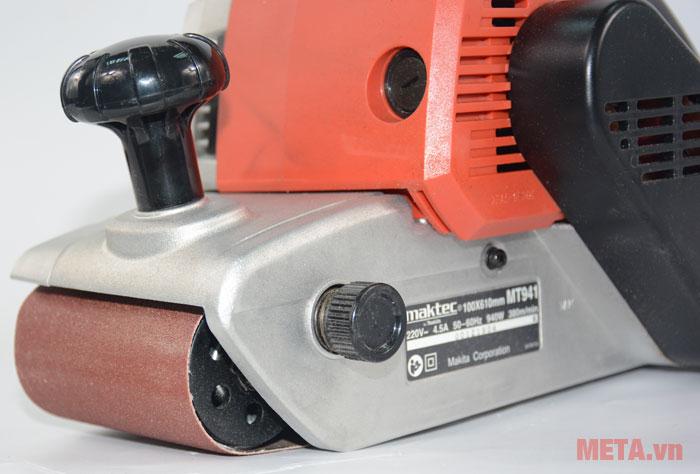 Máy chà nhám băng Maktec MT941 dành cho các công trình dân dụng