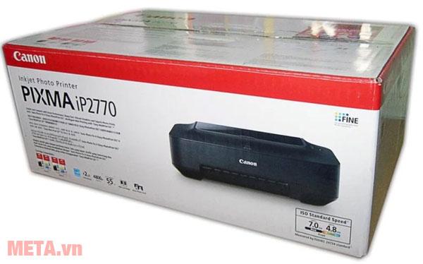 Máy in phun màu Canon PIXMA iP2770 bảo quản trong hộp giấy