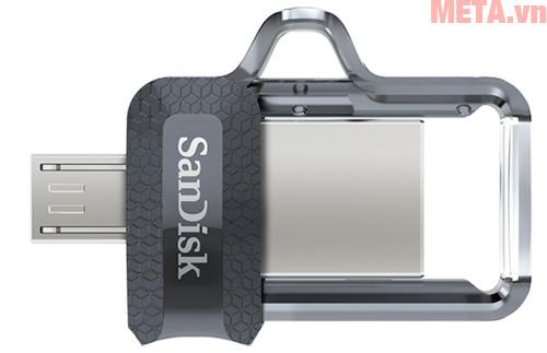 USB OTG 16GB 3.0 SanDisk Ultra DD3 có tốc độ đọc lên tới 130 MB/s