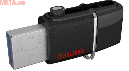 USB SanDisk 32GB có cổng giao tiếp USB 3.0 cho tốc độ xử lý thông tin nhanh chóng