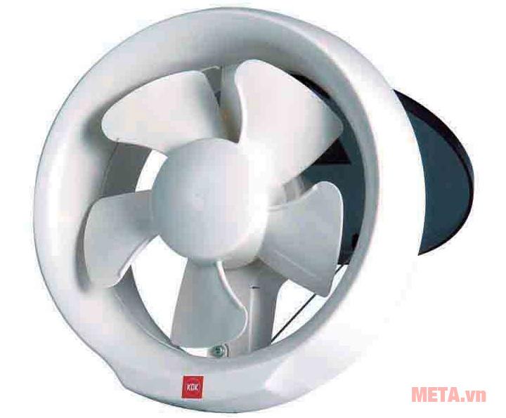 Quạt hút gắn kính 20WUD có thiết kế 5 cánh
