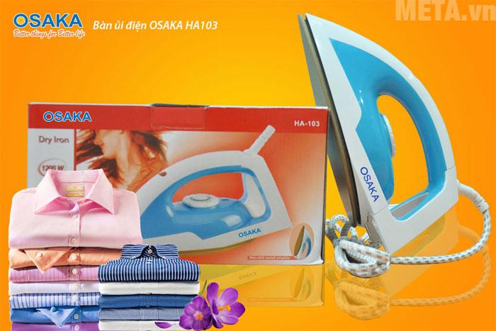 Osaka HA103 giúp bạn tiết kiệm thời gian ủi đồ hiệu quả