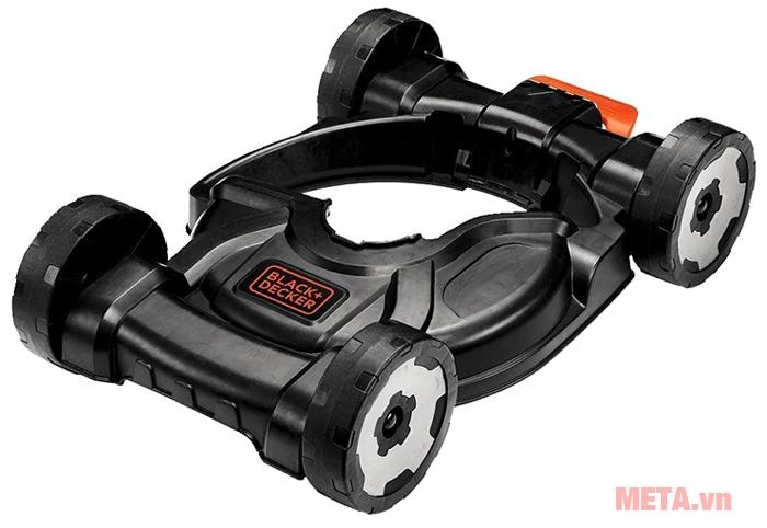 Máy cắt cỏ Black&Decker GL4525CM-B có bánh xe bằng nhựa