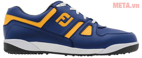 Giày golf nam FootJoy Greenjoy Spikeless 45171 thiết kế logo FJ trên thân giày