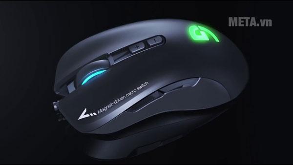 Hệ thống đèn LED đem đến cho chuột vẻ ngoài cá tính