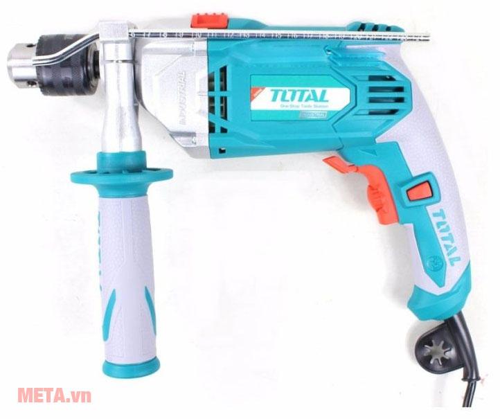 Máy khoan búa Total TG111136 thiết kế chắc chắn