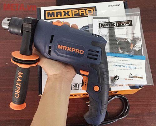 Maxpro MPID710V2 có thiết kế nhỏ gọn giúp bạn dễ dàng thao tác