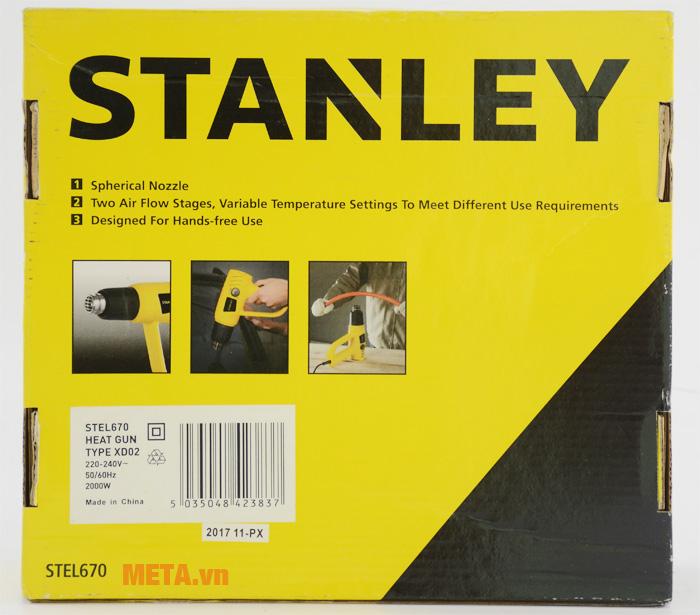 Hộp đựng giấy của máy thổi nóng Stanley Stel 670