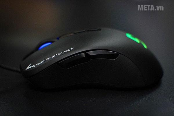 Chuột Fuhlen G90 Pro hoạt động với 7 nút bấm