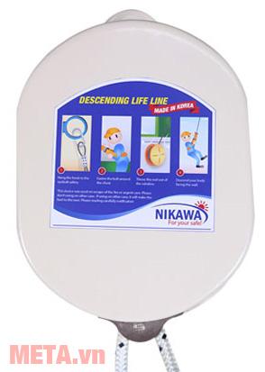Dây thoát hiểm nhà cao tầng Nikawa KDD-3F giúp thoát thân an toàn