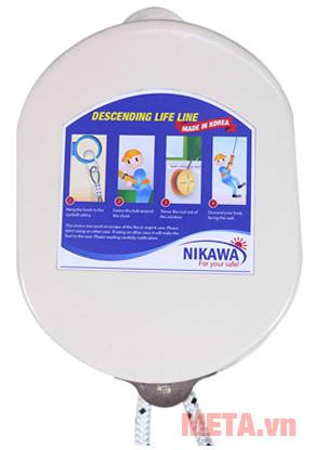 Dây thoát hiểm Nikawa KDD-5F giúp thoát hiểm an toàn khi xảy ra sự cố