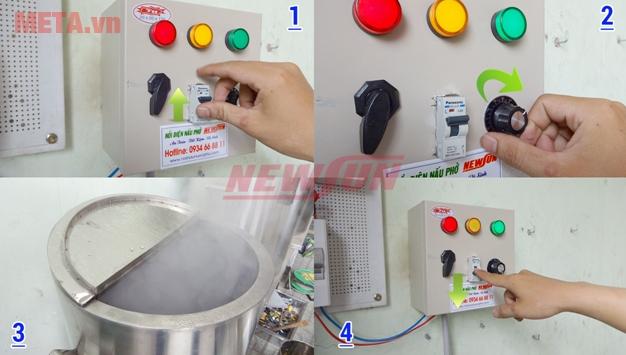 Bảng điều khiển (tủ điện rời)