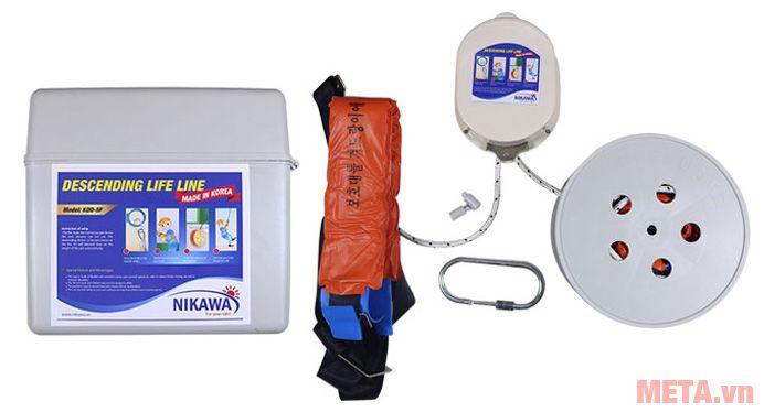 Dây thoát hiểm Nikawa KDD-9F dùng cho phụ nữ, người già, trẻ em