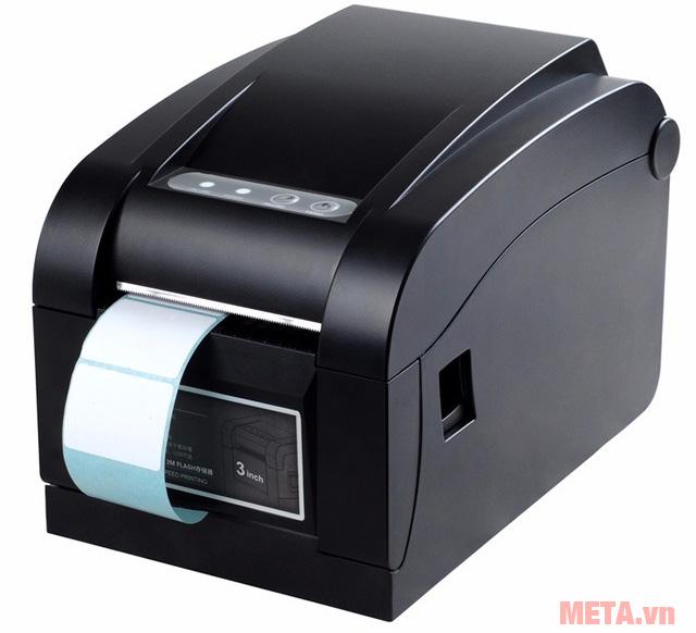 Máy in mã vạch Xprinter XP-350B có vỏ bằng nhựa