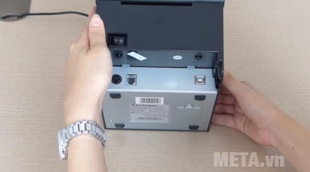 Máy in mã vạch Xprinter XP-350B có tốc độ in mã vạch nhanh