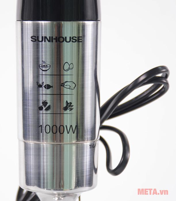 Máy xay cầm tay Sunhouse SHD5612 có dây điện dài