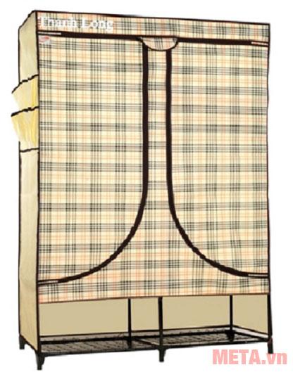 Tủ vải Thanh Long TVAI08 caro