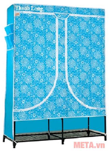 Tủ vải Thanh Long TVAI08 màu xanh