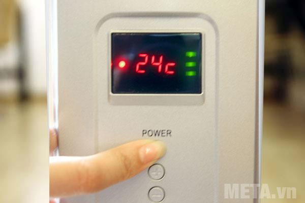 Máy sưởi dầu FujiE OFR4411 cài đặt được nhiệt độ