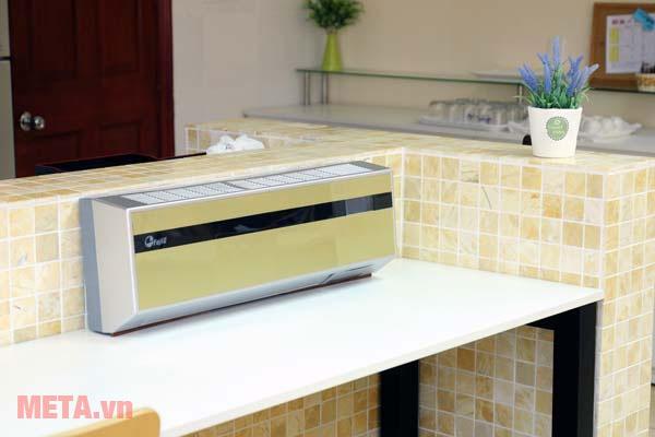 Máy sưởi điều hòa Ceramic treo tường FujiE CH-2500 dễ dàng sử dụng