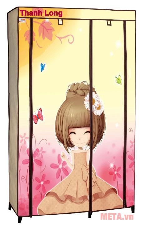 Tủ vải Thanh Long TVAI01 1m thiết kế chắc chắn