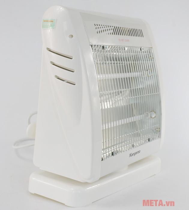 Đèn sưởi ấm Kangaroo KĐèn sưởi ấm Kangaroo KG1018C làm bằng nhựa chịu nhiệtG1018C làm bằng nhựa chịu nhiệt