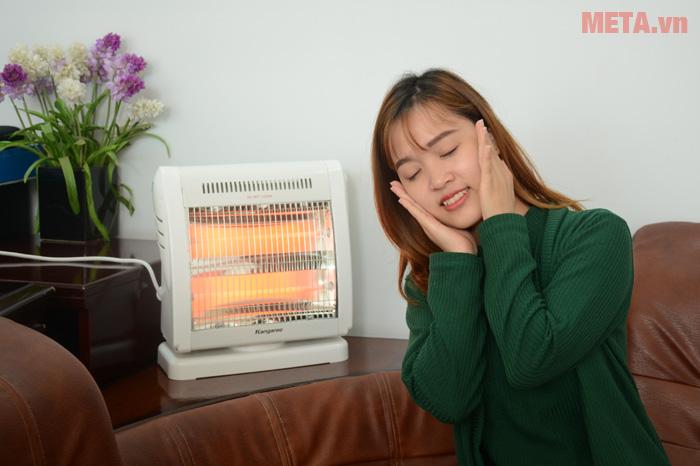 Đèn sưởi ấm Kangaroo KG1018C thật ấm áp