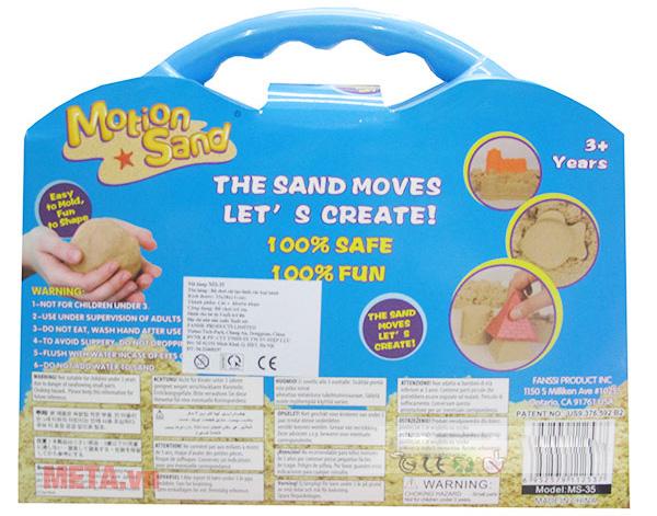 Cát tạo hình Motion Sand MS35 hàng cao cấp