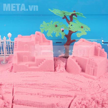 Cát tạo hình sân vườn Motion Sand MS32 an toàn cho bé khi chơi