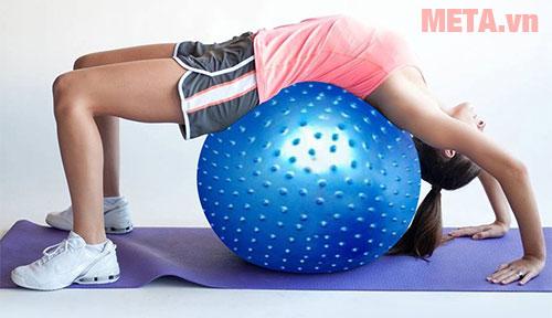 Bóng tập Yoga cao cấp có gai giúp giảm cân hiệu quả
