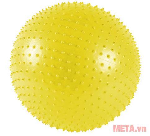 Bóng tập Yoga có gai màu vàng