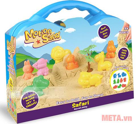 Cát tạo hình các loại thú Motion Sand MS36 dành cho trẻ từ 3 tuổi trở lên