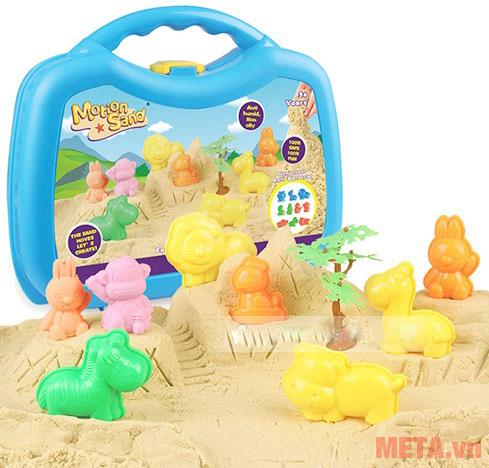 Cát tạo hình các loại thú Motion Sand MS36 giúp bé thỏa sức khám phá