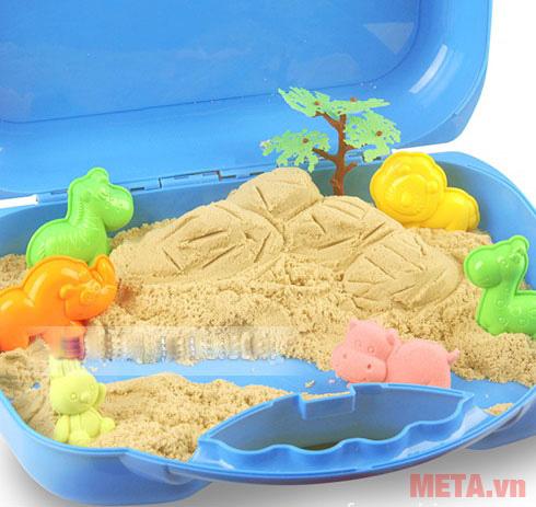 Cát tạo hình các loại thú Motion Sand MS36 làm bằng cát tự nhiên