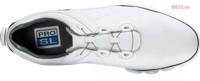 Giày golf nam Footjoy Pro SL BOA 53596 thiết kế thanh mảnh