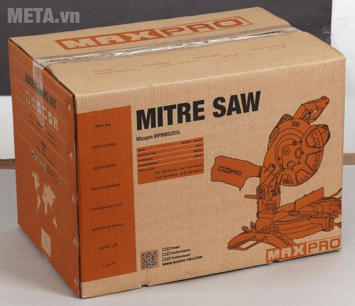 Hộp đựng của máy cắt nhôm Maxpro MPBMS255L