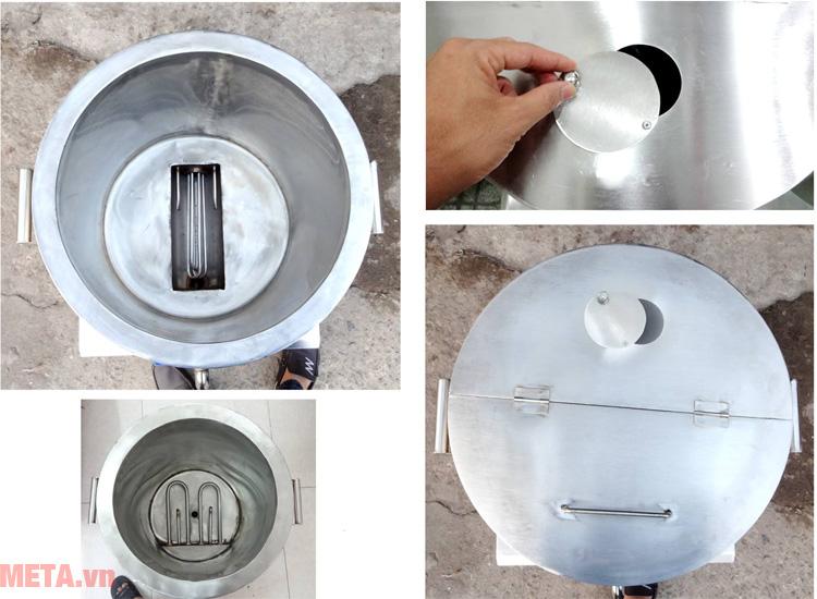 Nồi nấu phở bằng điện NPVN100L được trang bị hệ thống tự ngắt an toàn