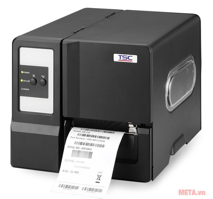 Hình ảnh máy in tem mã vạch TSC ME - 240