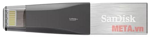 USB SanDisk iXpand mini IX40 16GB tự động sao lưu hình ảnh và chụp hình quay phim trực tiếp trên iXpand
