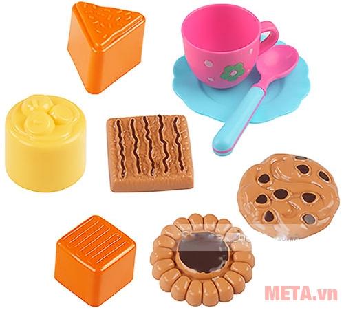 Đồ chơi cát tạo hình các loại bánh Motion Sand MS37 có khuôn bằng nhựa