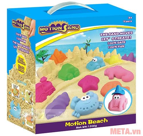 Đồ chơi cát tạo hình Motion Sand MS02 có hộp đựng sang trọng